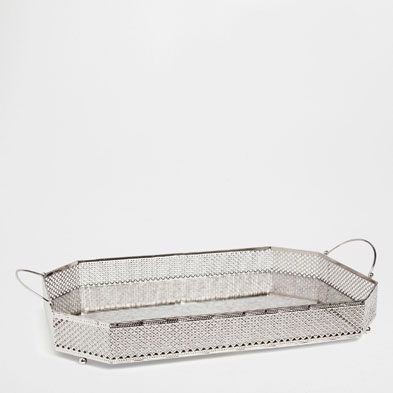 trays tableware zara home netherlands kitchen mirror tray tray en zara home. Black Bedroom Furniture Sets. Home Design Ideas