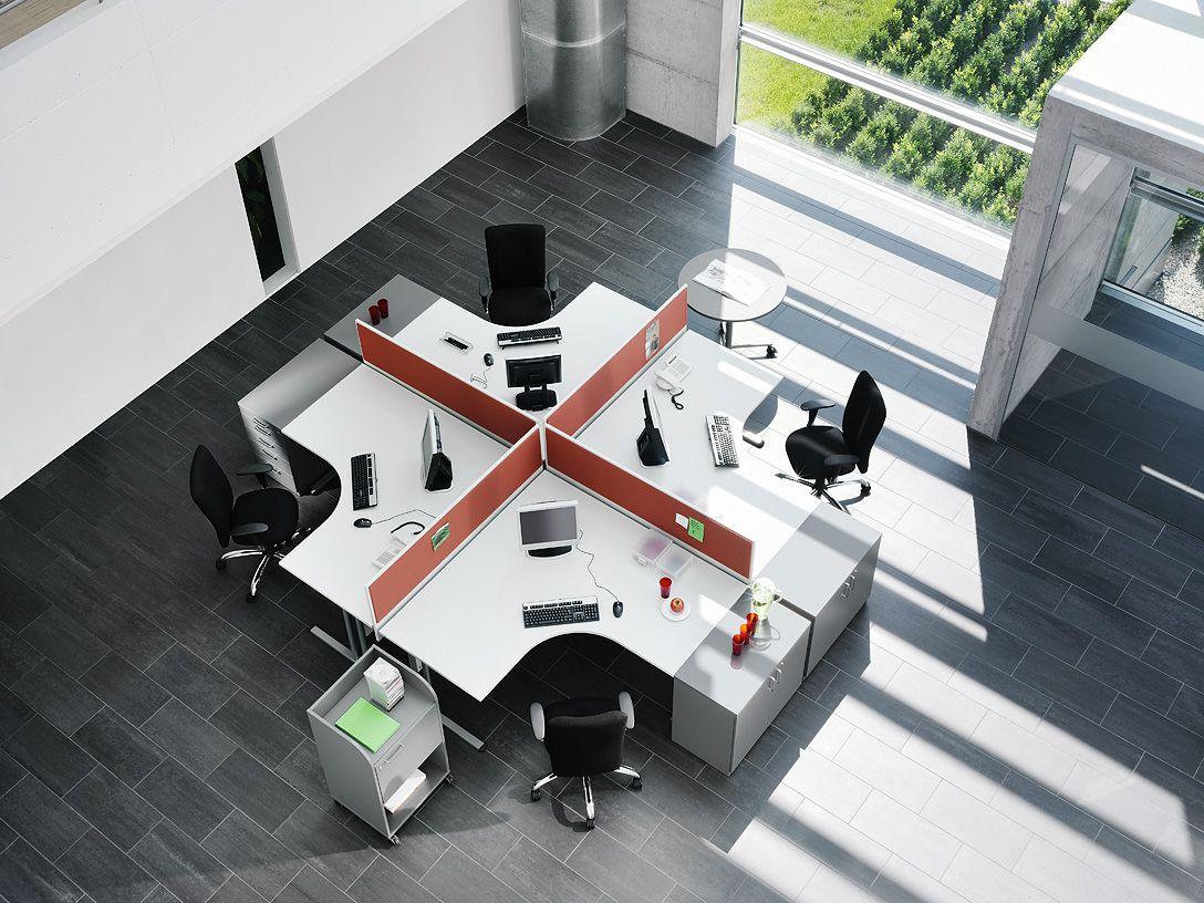 office workspace design ideas. Office Workspace Design Ideas. Example Of Our Desk Configuration. Ideas