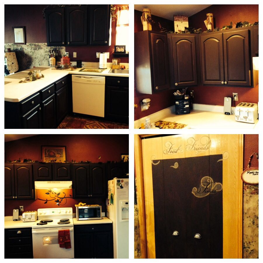 Rustoleum Kitchen Cabinet Transformation From Lowes Color Tudor