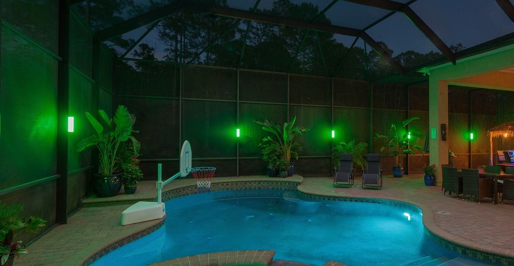 Led Lanai Lighting Pool Enclosure Lighting Color Changing