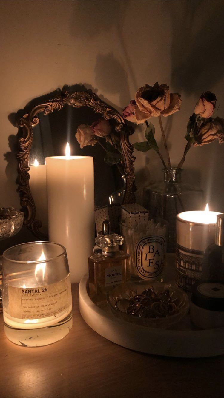 Aesthetic Rooms, Candle Aesthetic