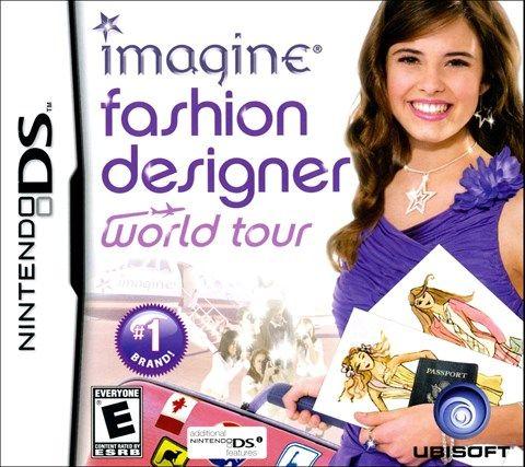 Imagine Fashion Designer World Tour For Nintendo Ds Fashion Design Ds Games For Girls Nintendo Ds
