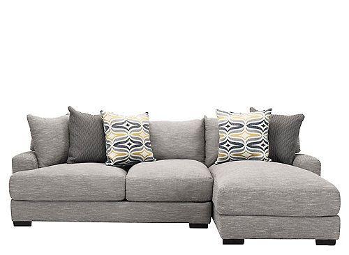 Leighton 2 Pc Sectional Sofa Sectional Sofa Microfiber