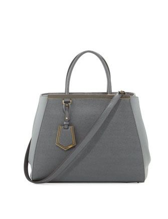 FENDI 2Jours Vitello Elite Medium Tote Bag