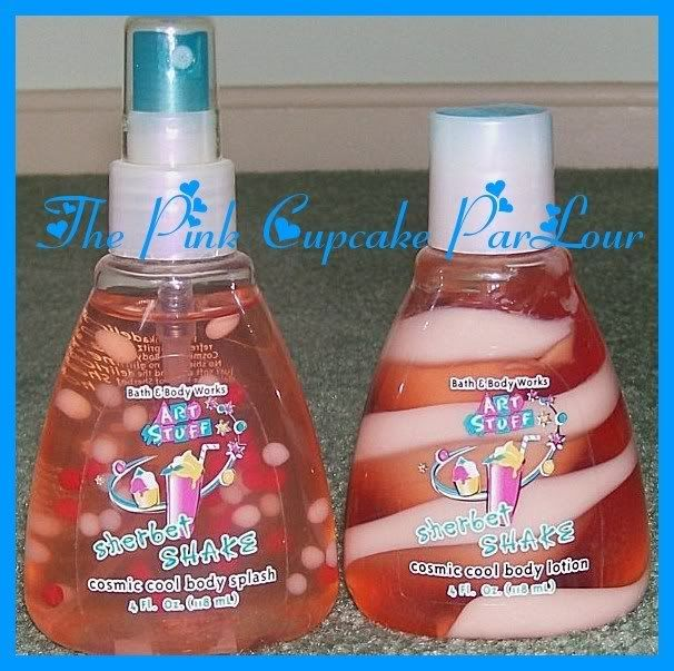 Bath and body works Art Stuff collection. Loved this stuff as a kid. Especially the roll on glitter!