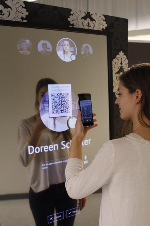 Avoid conflicts with an interactive mirror talking to your smartphone #IoT