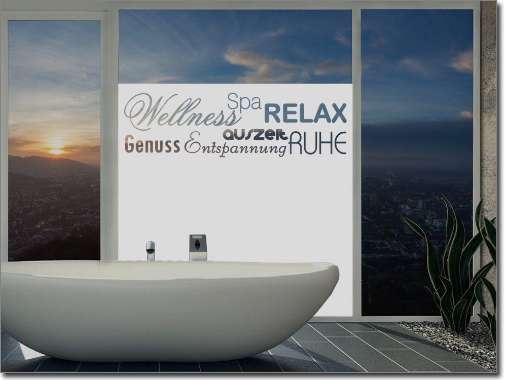 Fensterfolie Badezimmer Wellness Sichtschutzfolie für Badezimmer - sternenhimmel für badezimmer