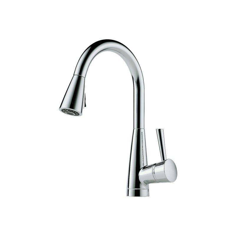 Brizo 63070lf Venuto Pull Down Kitchen Faucet With Magnetic