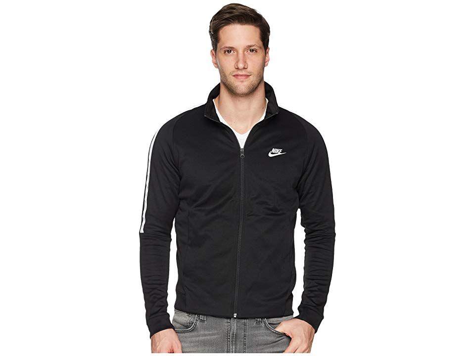 a717274e321f Nike Sportswear N98 Jacket (Black White White) Men s Coat. Stay polished