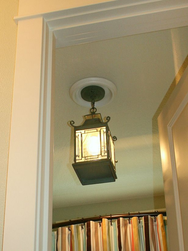 Replace Recessed Light With A Pendant Fixture Light Fixtures