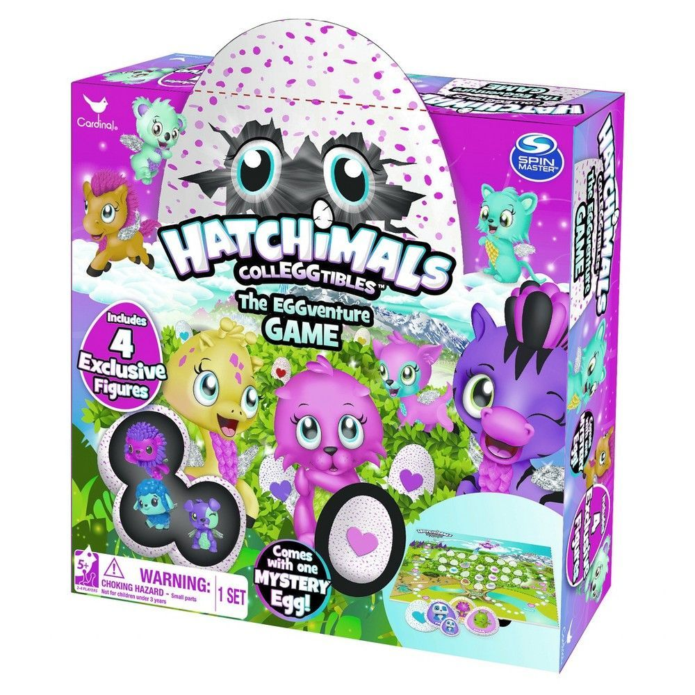 Hatchimal EGGventure Game with Figure Easter games for