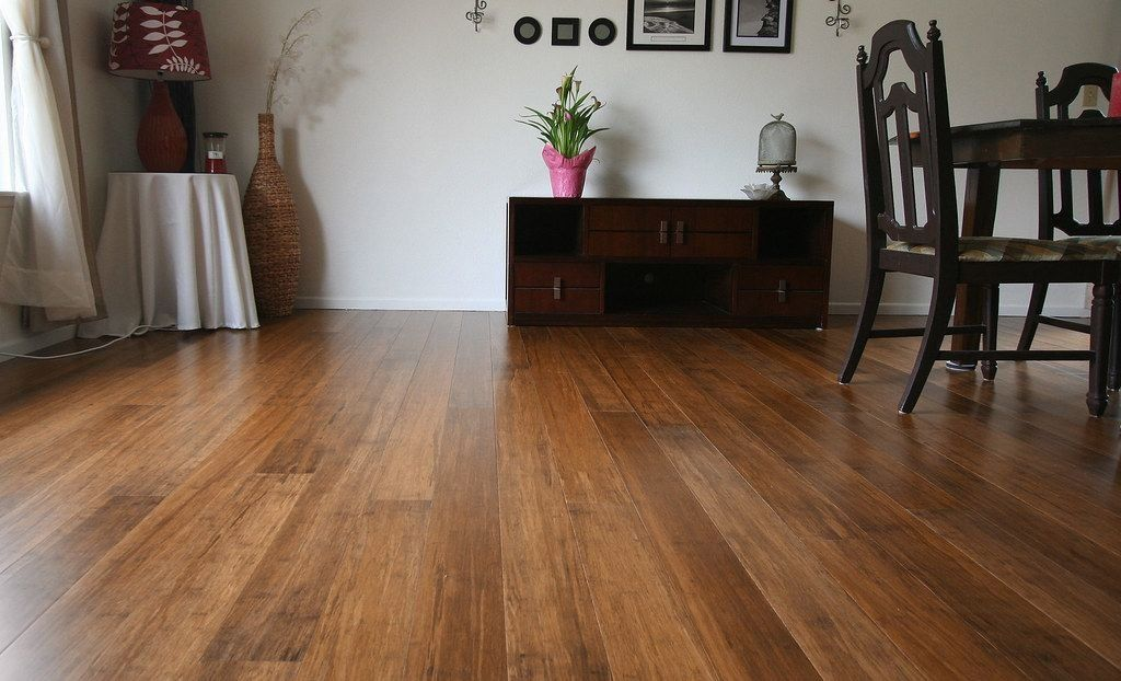 Solid Bamboo Flooring Java Fossilized® strand woven