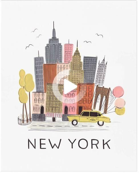 NYC by Rifle Paper Co.
