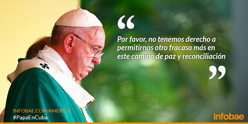 #PapaEnCuba | Esto decía Francisco al dirigir su pensamiento en la lectura del Angelus http://infob.ae/1KosU3H