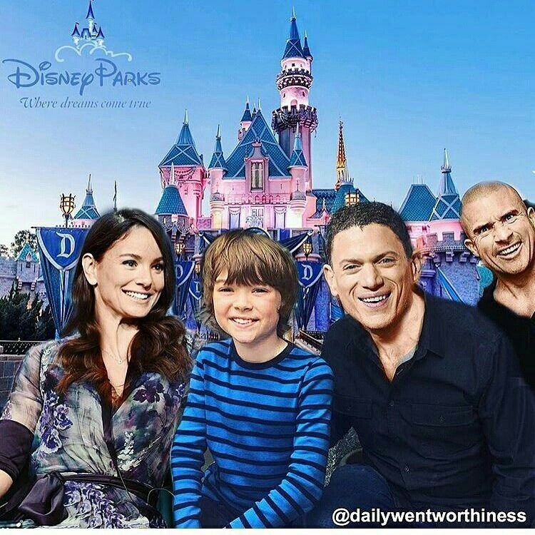 Sarah Wayne Callies, Cooper, Wentworth Miller and Dominic Purcell