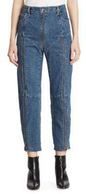Vetements X Levis Reworked Zip Jeans Denim Outfit For Women Denim Women Denim Outfit