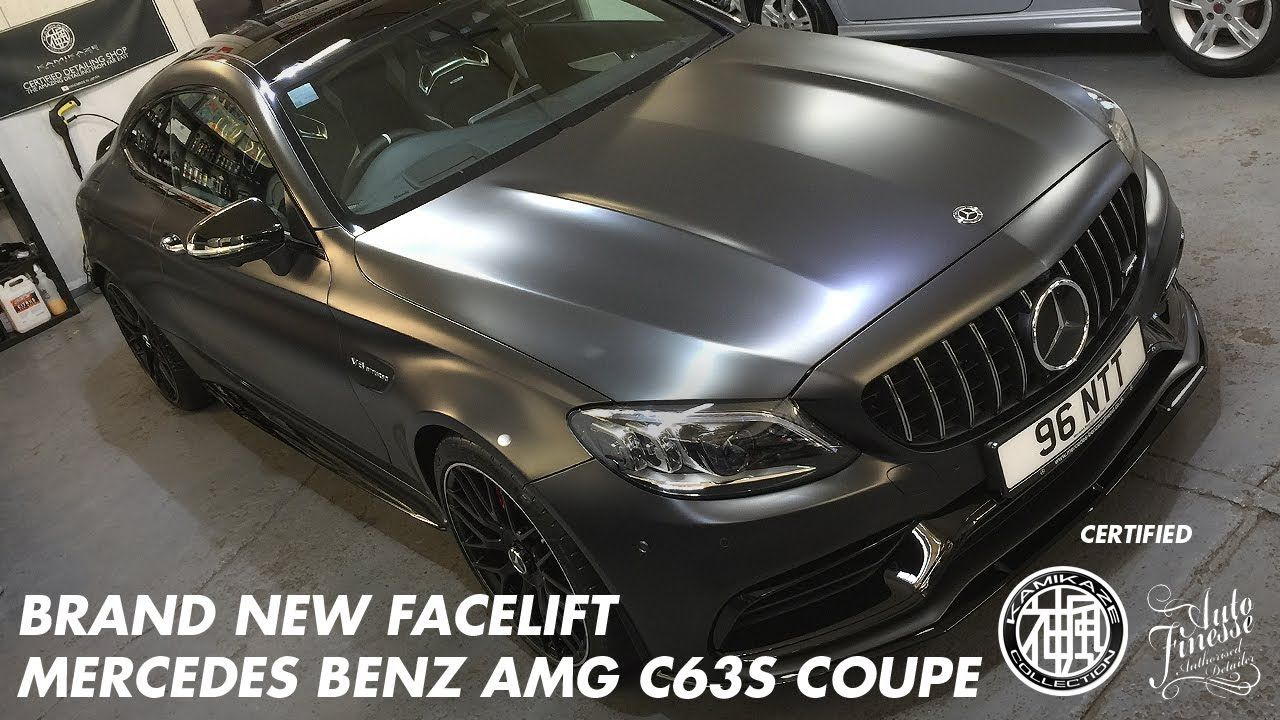 Brand New 2019 Facelift Mercedes Benz Amg C63s Coupe Designo