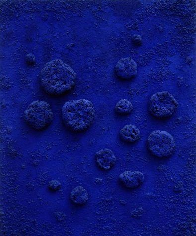 5fff9f8ea44 Yves Klein L accord bleu (RE 10)