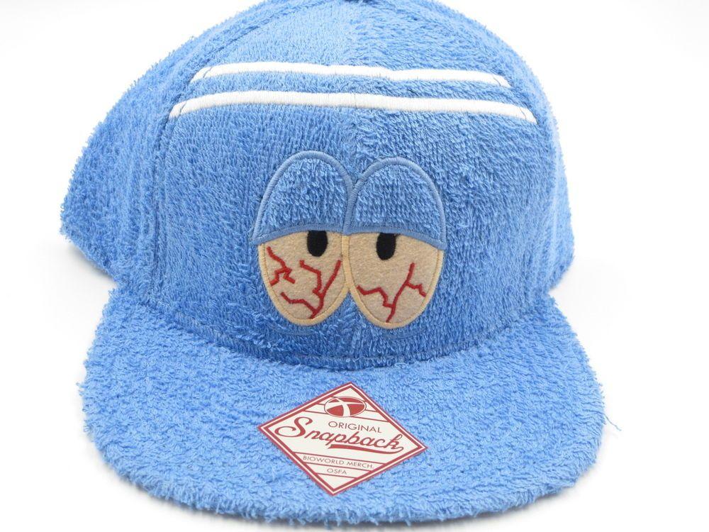 cheap for discount 1941b 3d613 South Park Towelie Bioworld Blue Snapback Hat  Bioworld  BaseballCap