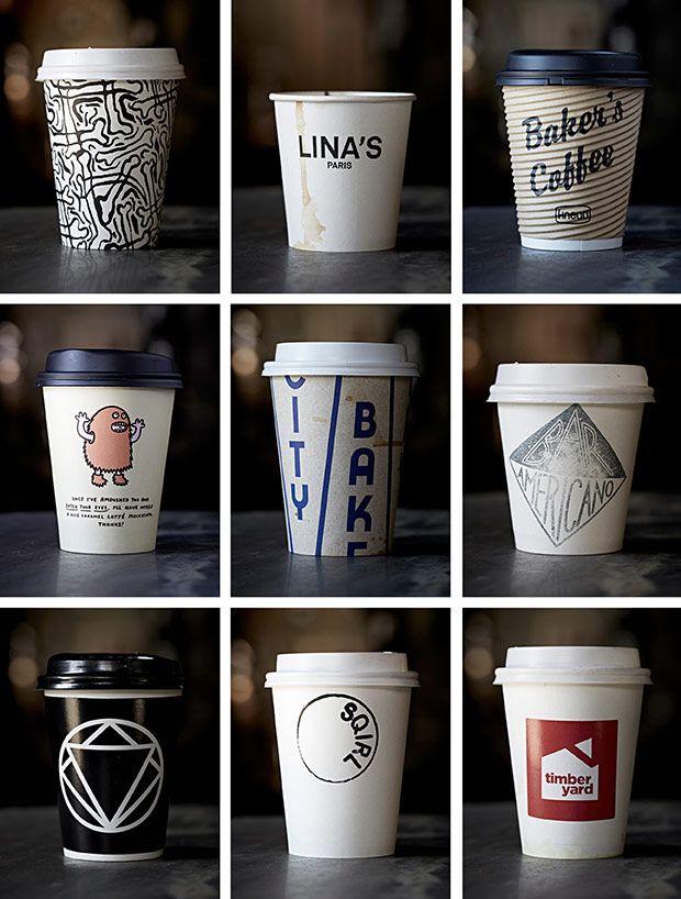Photo Du Jour A Collection Of Coffee Cups From Around The World Kemasan Kopi Kopi Kedai Kopi
