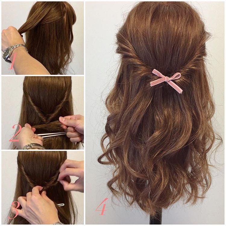 髪 おしゃれまとめの人気アイデア Pinterest Ai Hsgw 簡単 ヘア