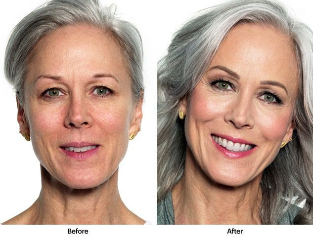 Before And After Bobbi Brown Makeup All Set Well By The