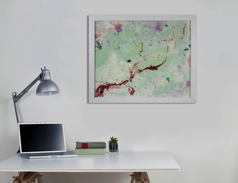 Large Abstract Wall Art Modern Wall Art Framed Art With