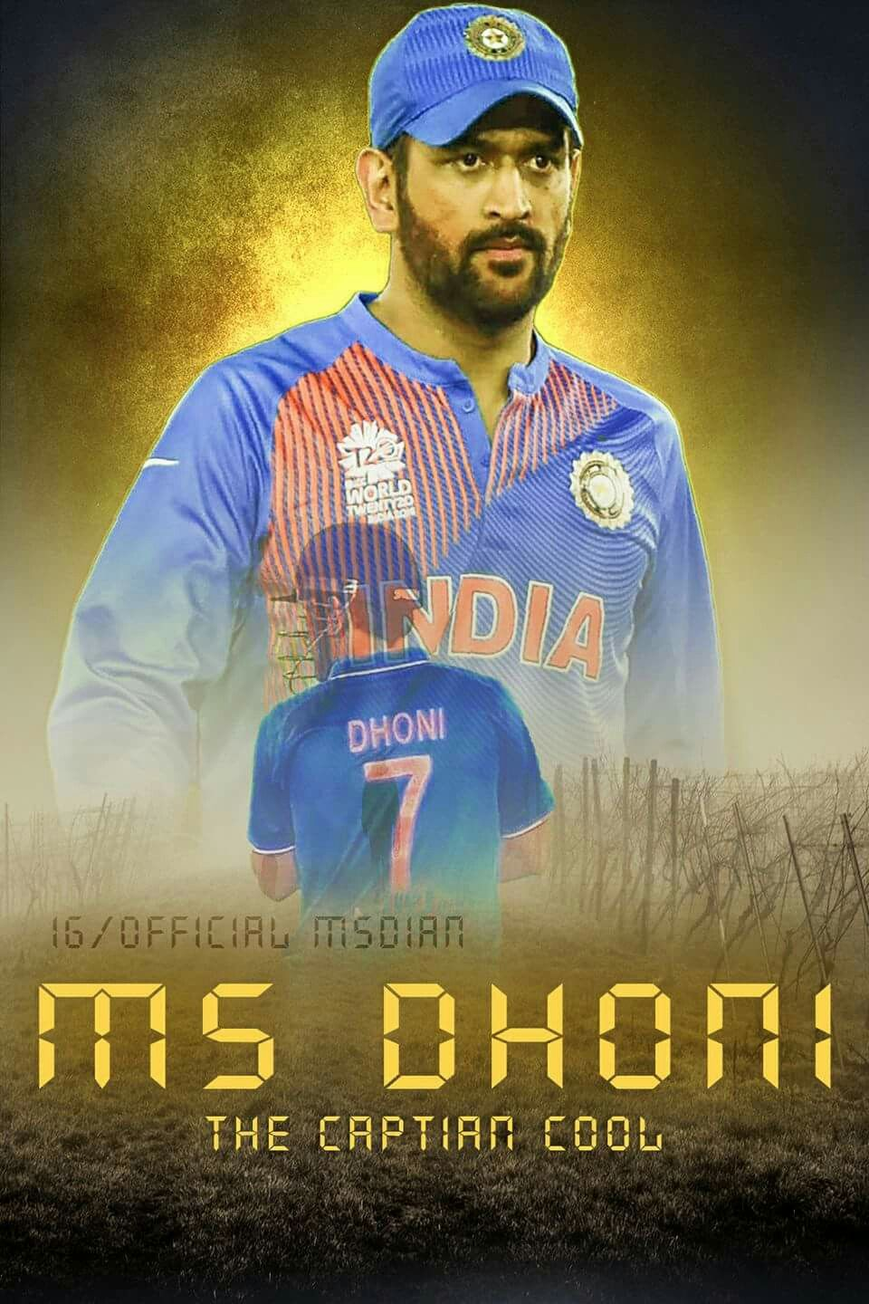 M S Dhoni Captain Cool Ms Dhoni Wallpapers Dhoni Wallpapers