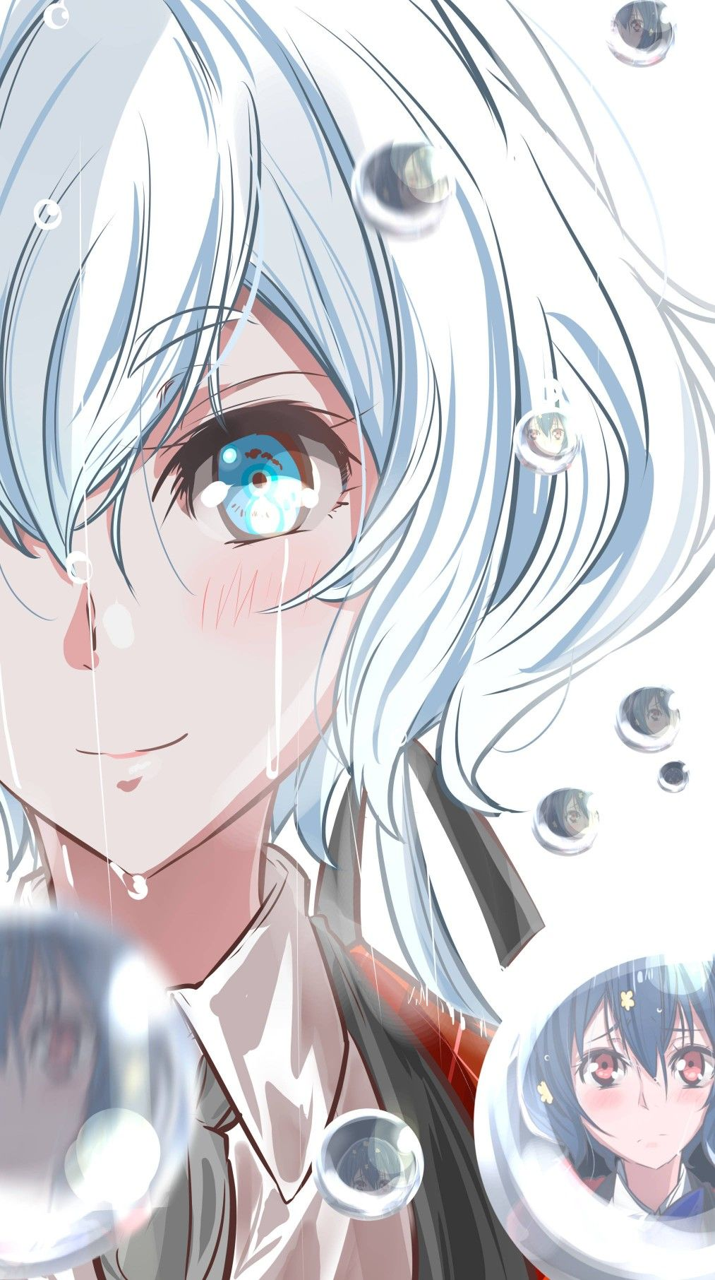 Dp Maternity Black Crinkle Shirt Anime Anime Artwork Anime Eyes