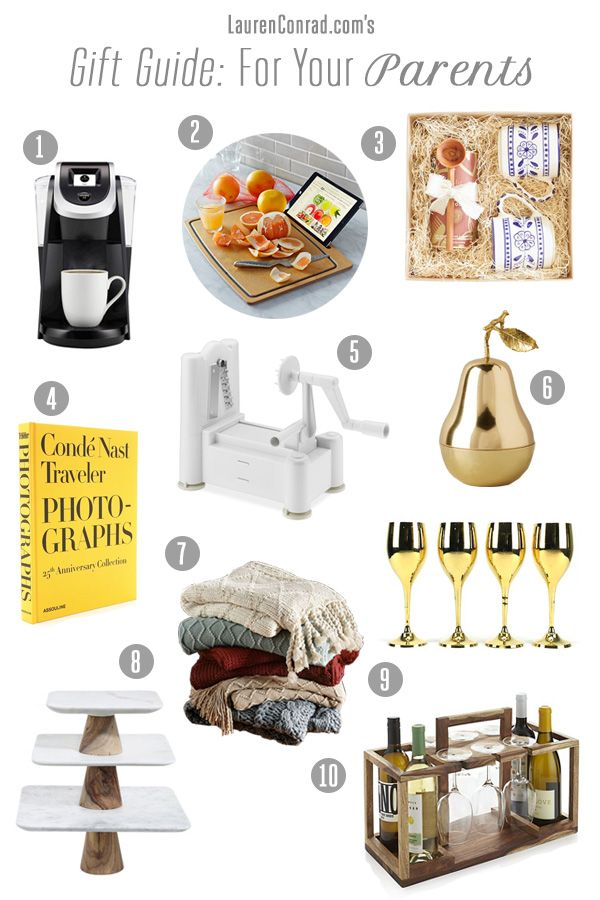 gift guide what to get your parents lauren conrad