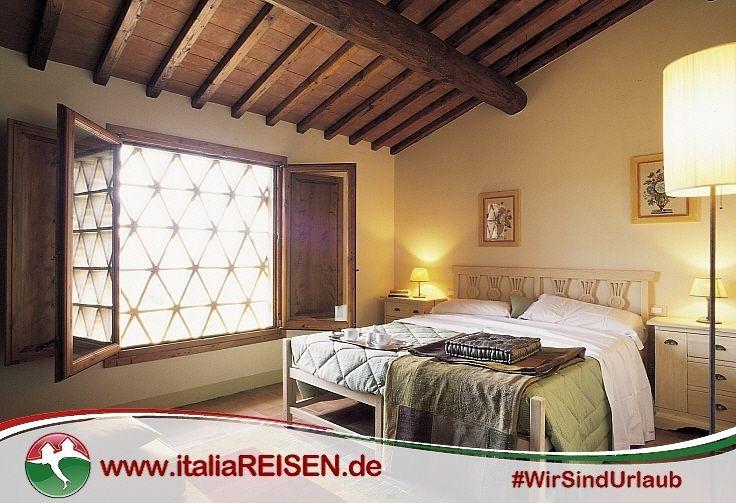 Webcode: IT-GTDE, Schlafzimmer, Toskana, Italien, Urlaub, Reisen ...