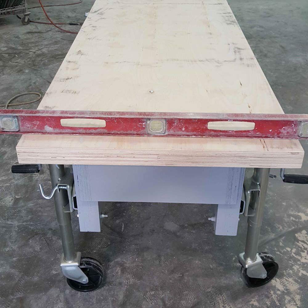Casting Table Plans Concrete Countertop Institute Concrete