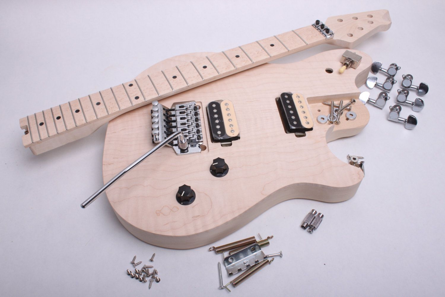 Usa Made Build Your Own Electric Guitar Kit Evh Style