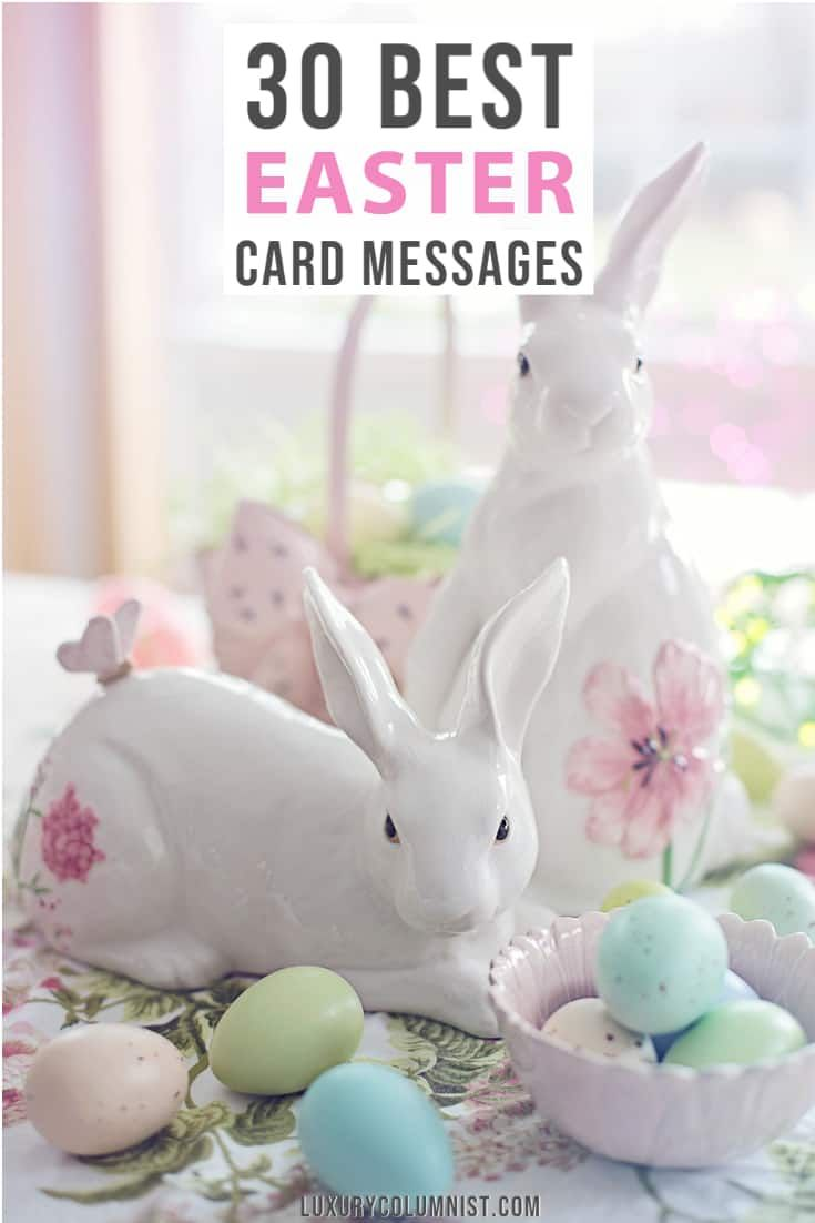 30 best easter card messages cute funny and inspiring