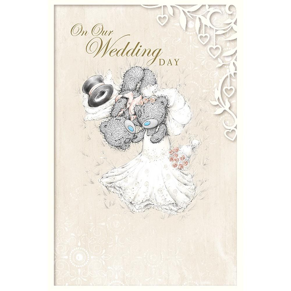 On Our Wedding Day Me to You Bear Card £3.59 | me to you bear ...