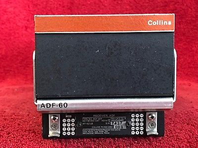 ROCKWELL COLLINS ADF 60A RECEIVER P N 622 2362 001