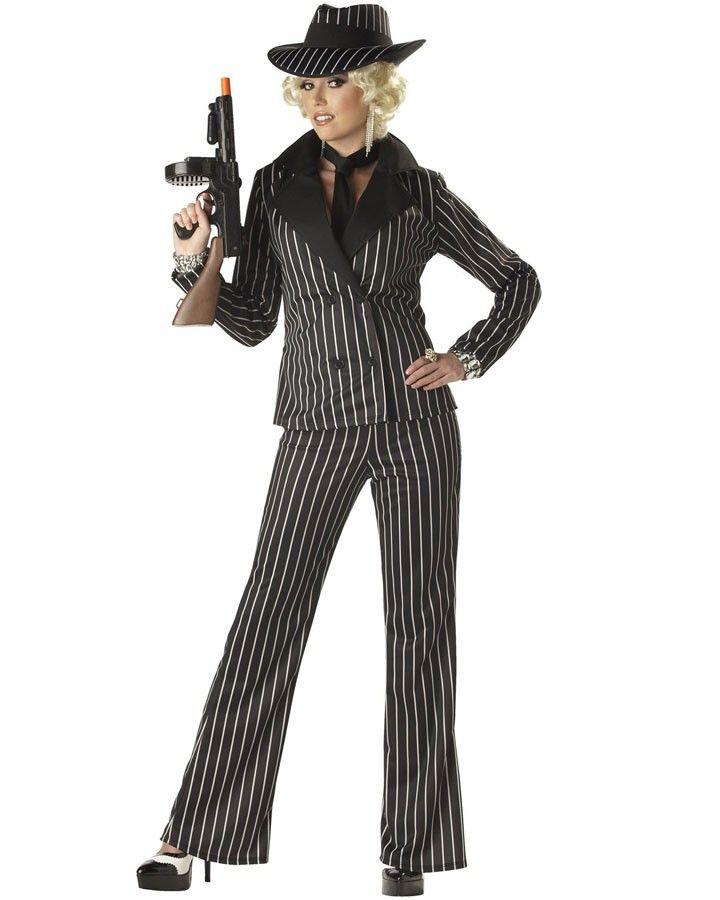 Gangster Lady Womens Costume #Casino