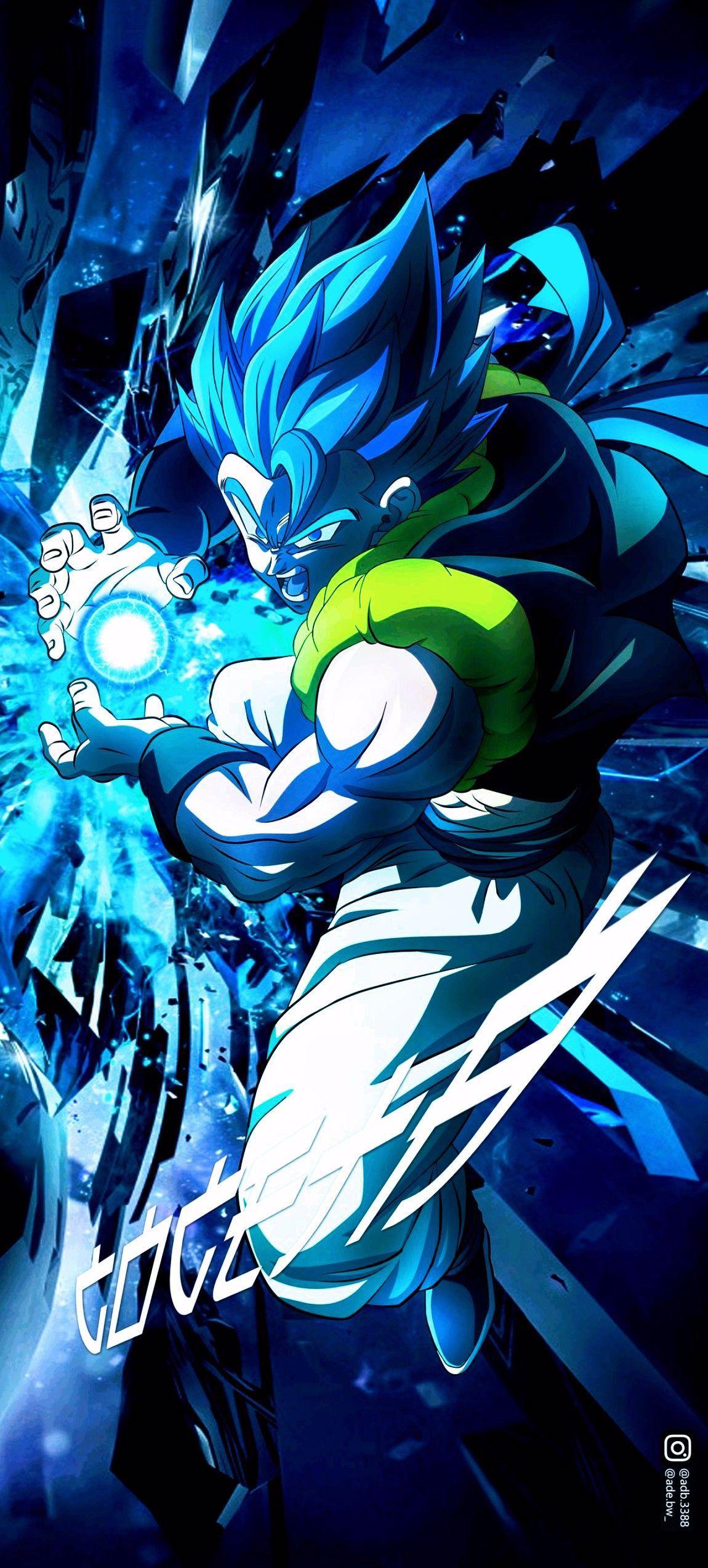 Gogeta Super Saiyan Blue, Dragon Ball Super in 2020 ...