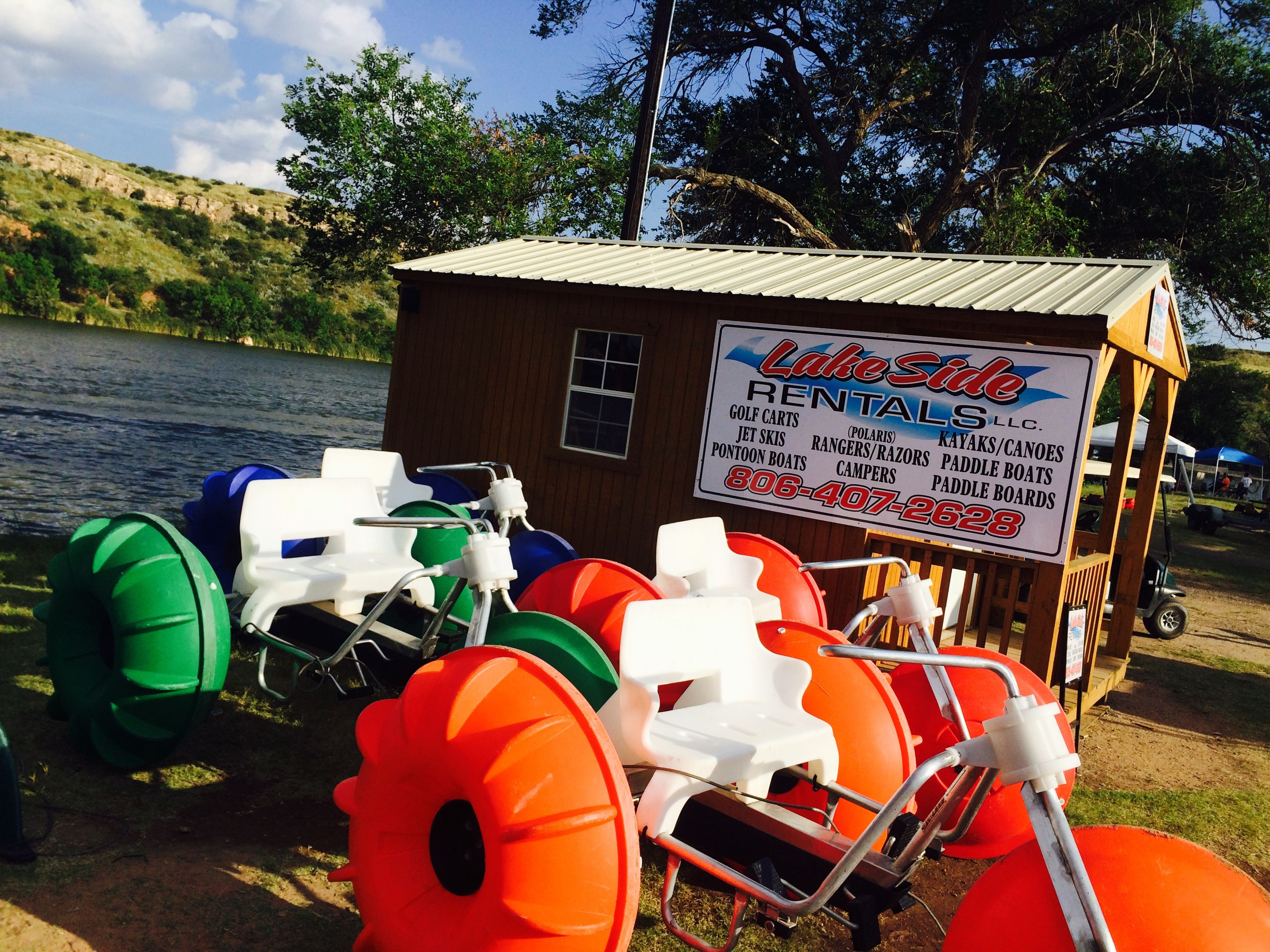 Lakeside Rentals Lubbock Tx Have Aqua Cycle Water Trikes For Rent Www Aquatic Adventures Com Paddle Wheel Pedal Boat Pontoon Boat