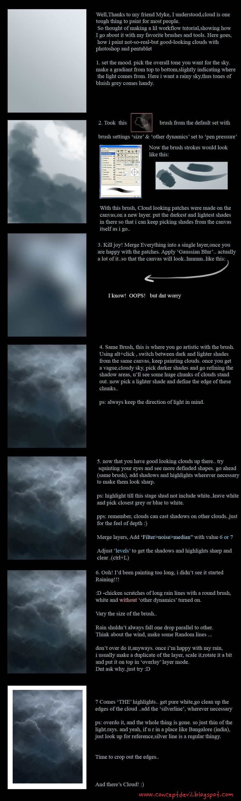 Another cloud tutorial by mirchiz.deviantart.com