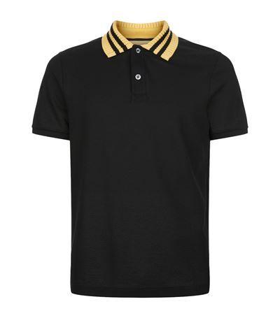 acbb702415 GUCCI Knit Collar Polo Shirt. #gucci #cloth # | Gucci Men | Polo ...