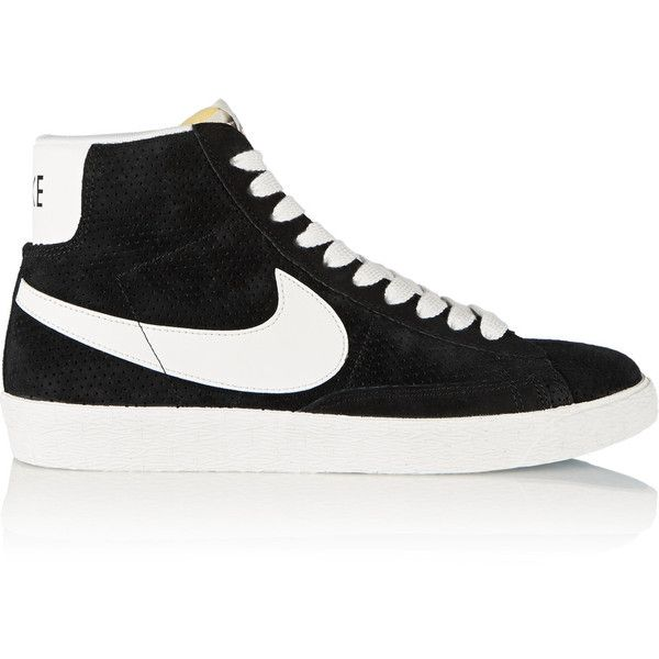 Nike Blazer Perforated Suede High Top Sneakers 65 Liked On
