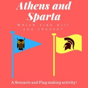 Athens And Sparta Comparison Activity I Love Teaching Students About Athens And Sparta Because They Get So Into It In Thi Activities Sparta Athens And Sparta