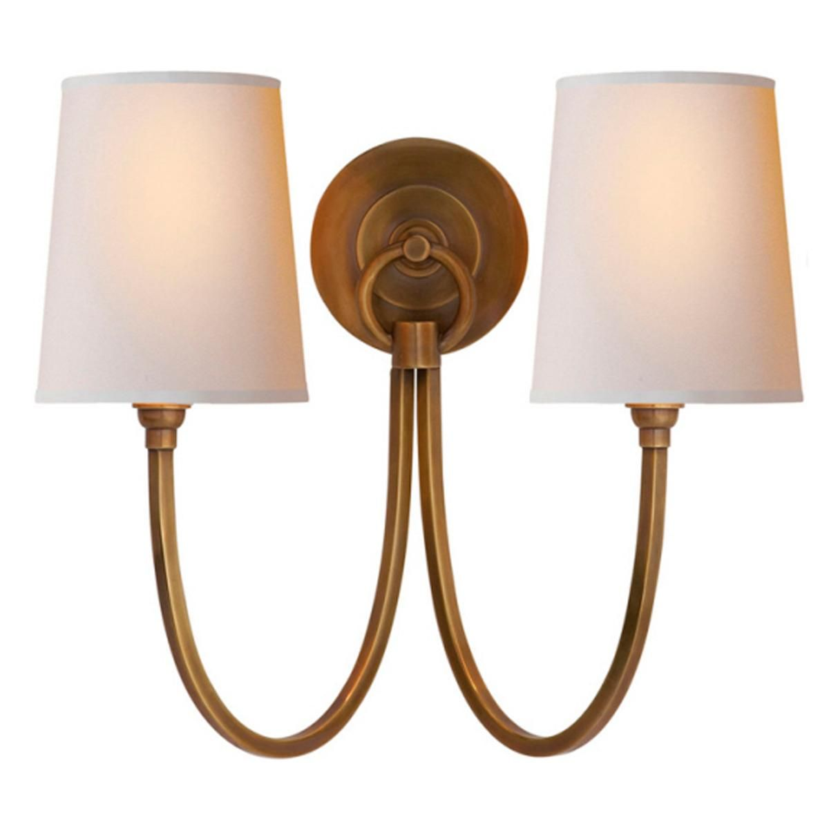 Double Swag Sconce   2 Light   4 Finishes Will Be In Bathroom/shower Room  With Polished Nickel Finish
