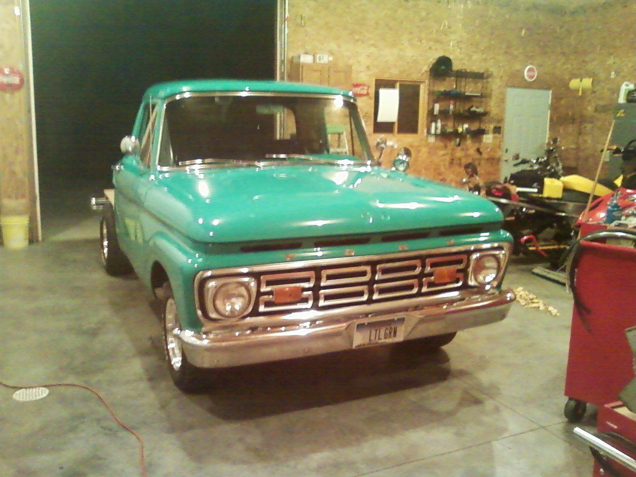 1964 Ford F100 Restoration Page 4 Ford Truck Enthusiasts Forums In 2020 1964 Ford Ford Truck Ford Trucks
