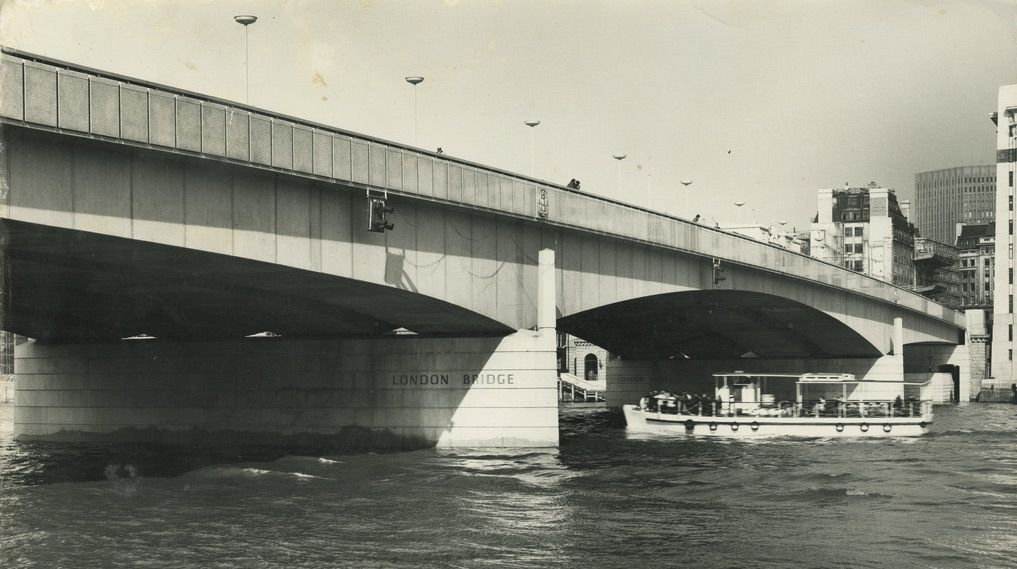 New London Bridge Opened In 1973 Spanning The Thames To Southwark