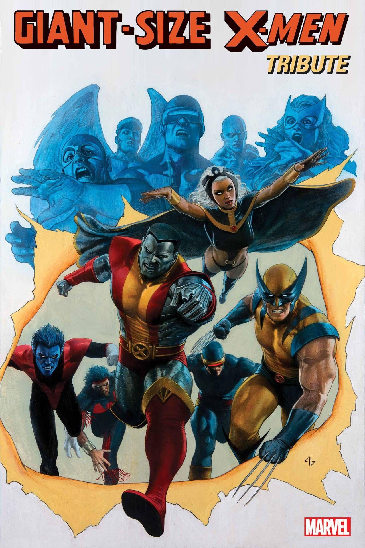 Giant Size X Men 45th Anniversary Special Tribute Cover By Adi Granov In 2020 Marvel Comic Books X Men Comics