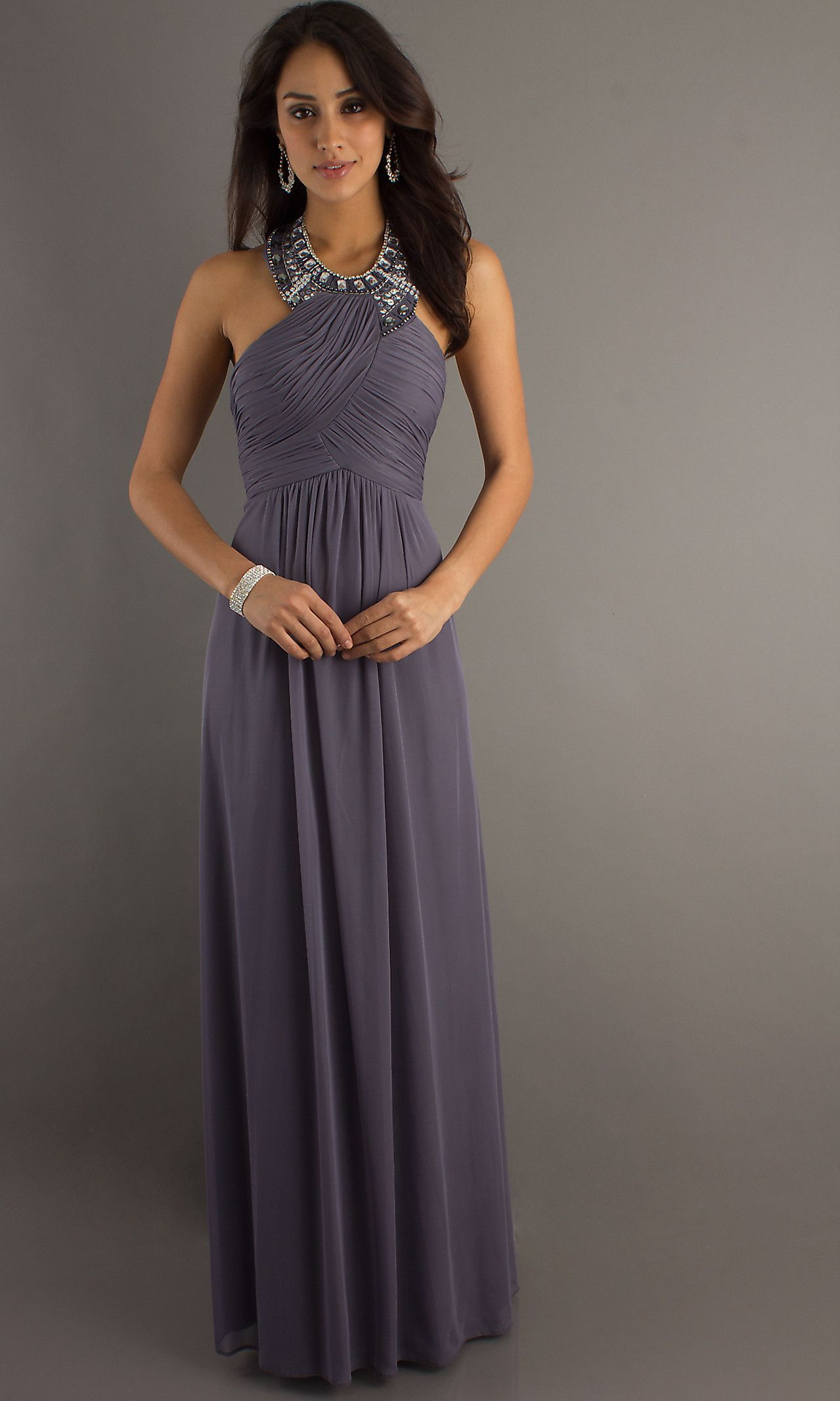 Gray dress for wedding party  Pin by Michline Boghos on elegant  Pinterest  Cocktail party