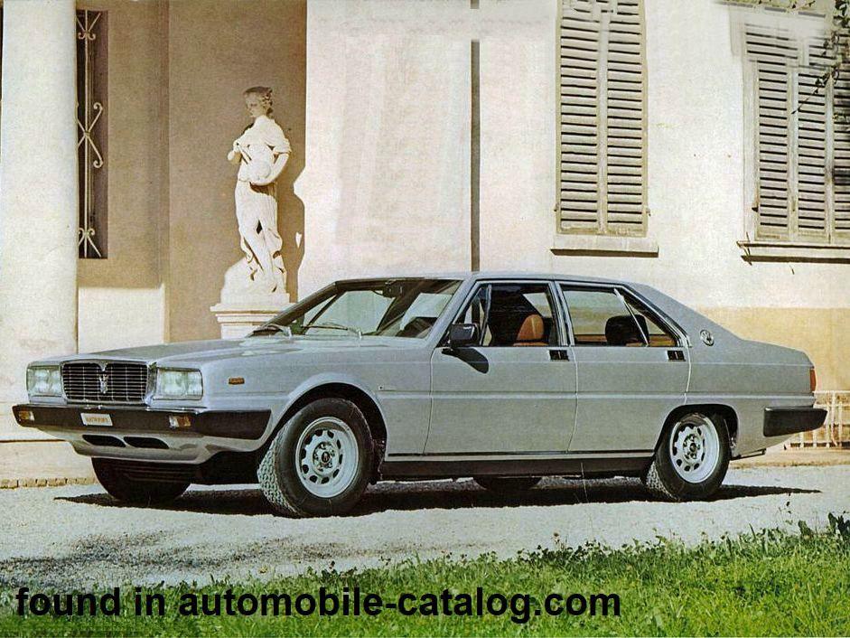 Maserati Quattroporte 4900 automatica (1979)   Maserati ...
