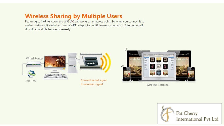 Tenda Te W311mi Wireless Usb Adapter With Ultra Compact Design N Technology